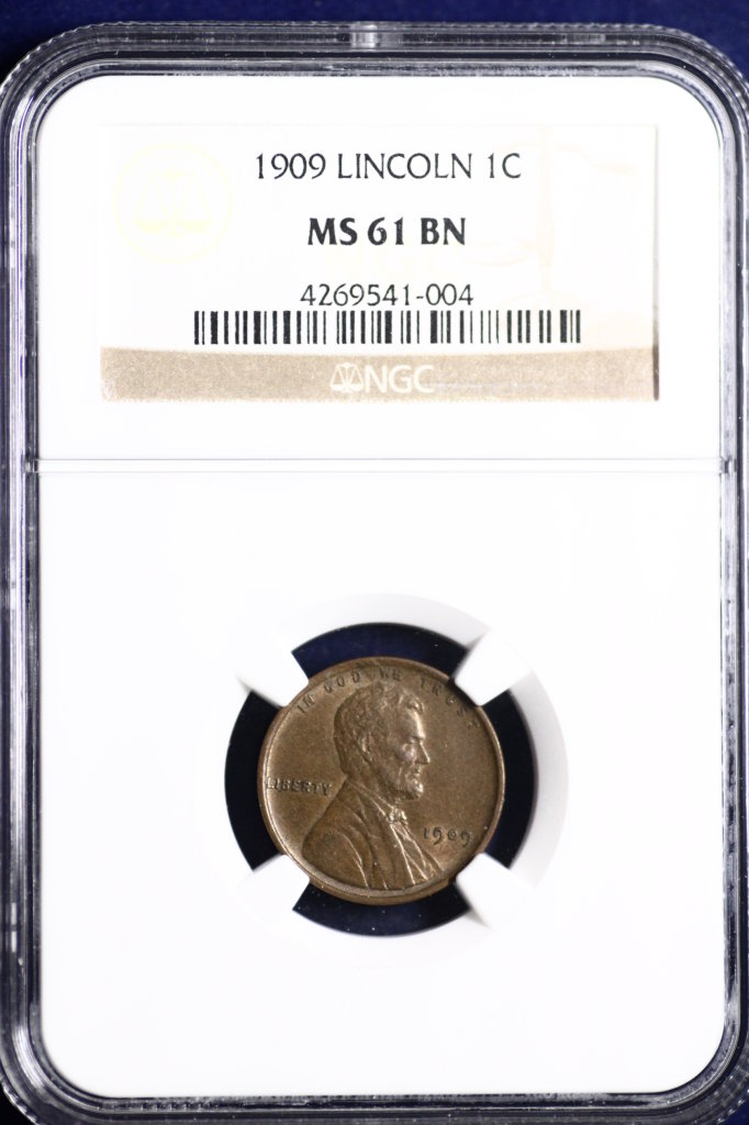 1909 uncirculated Lincoln Penny