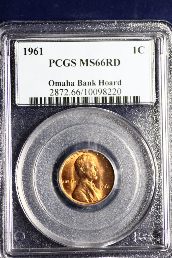 Omaha Bank Hoard uncirculated red Lincoln Penny