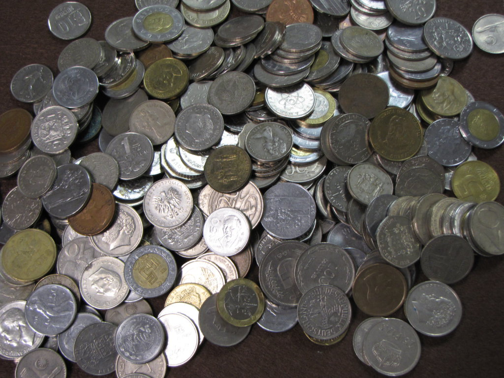 huge world wide coin lot