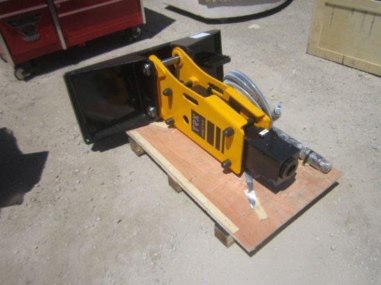 Unused TRX HB750 Hydraulic Hammer Attachment,