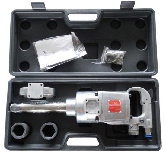 "Unused 1"" Drive Air Impact Wrench Kit"