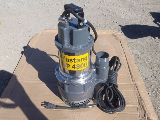 "Unused Mustang MP4800 2"" Submersible Pumps,"