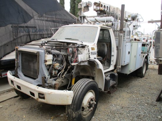 Ford F800 S/A Bucket Truck,