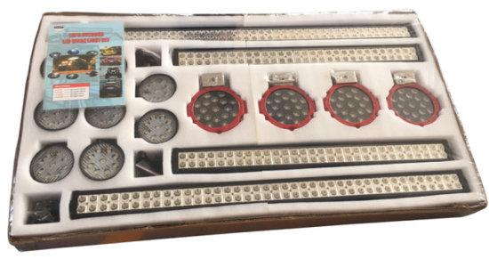 Unused LED Light 16-Piece Set
