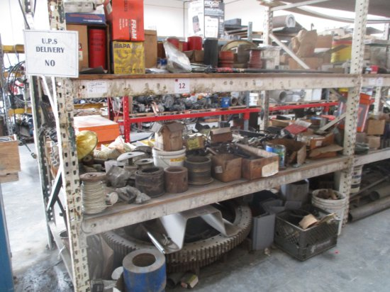 """Filters, 52"""" Ring Gears, Misc Toolings & Parts"""