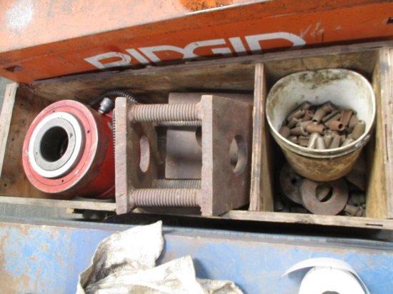 Large Hydraulic Jack W/Misc Parts