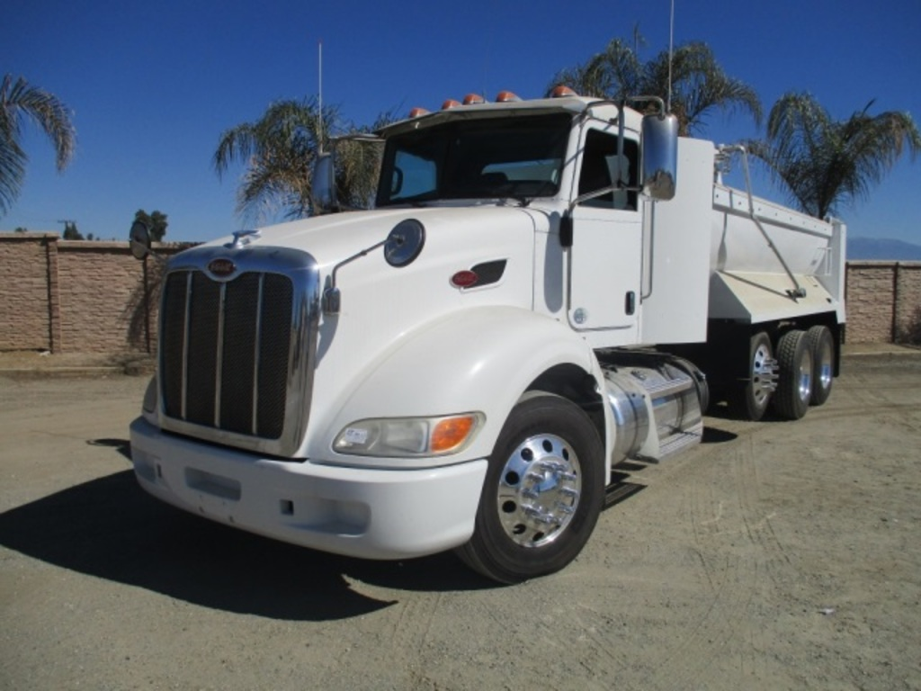 2013 Peterbilt 386 Super 10 Dump Truck Commercial Trucks Hauling Transport Trucks Dump Trucks Auctions Online Proxibid