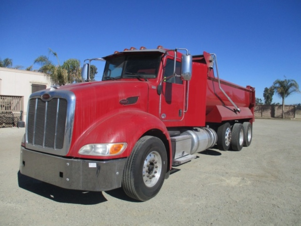 2012 Peterbilt 386 Super 10 Dump Truck Commercial Trucks Hauling Transport Trucks Dump Trucks Auctions Online Proxibid