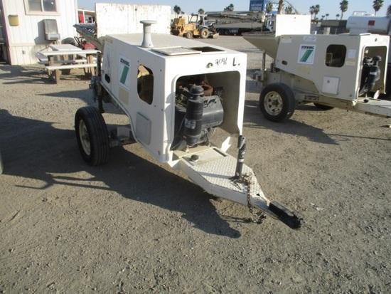 Schwing P88 Towable Concrete Pump,   Heavy Construction