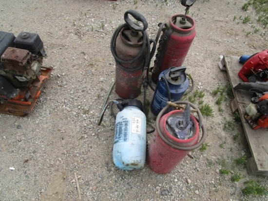 (5) Misc Pump Sprayers