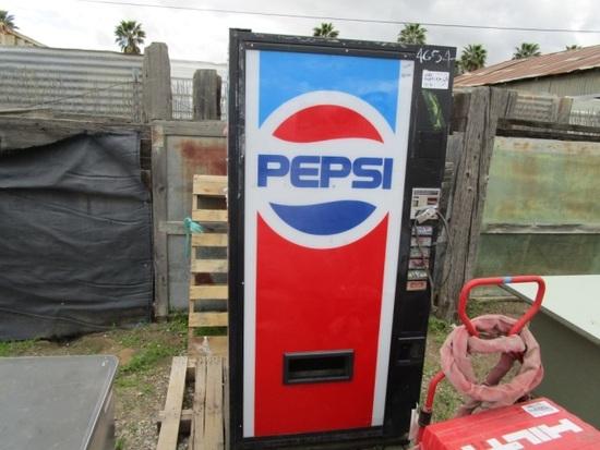 Pepsi Vending Soda Machine,