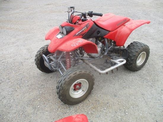 2004 Honda Sport Trax Quad,