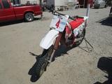 Yamaha YZ125 Dirt Bike,