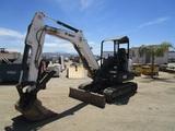 2016 Bobcat E42 Mini-Hydraulic Excavator,