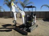 2017 Bobcat E20 Mini-Hydraulic Excavator,