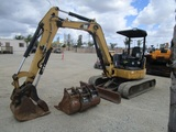 2012 Caterpillar 305D Mini-Hydraulic Excavator,