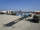 American Carrier Equipment T/A Roll-Off Trailer,