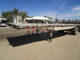 Utility S/A Flatbed Trailer,