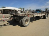 Utility S/A Flatbed Pup Trailer,