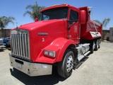 2010 Kenworth T800 Super-10 Dump Truck,