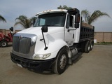 2011 International 8600 T/A Dump Truck,