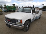 GMC 3500 Utility Dump Truck,