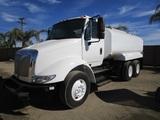 2013 International 8600 T/A Water Truck,