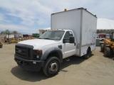 2008 Ford F450 XL Van Truck,