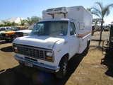 Ford Econoline Reefer Van Truck,