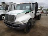 2012 International Durastar S/A Flatbed Dump Truck