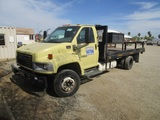 2005 GMC C5500 S/A Flatbed Truck,