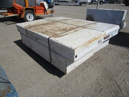Pallet Of Two Truck Bed Tool Boxes