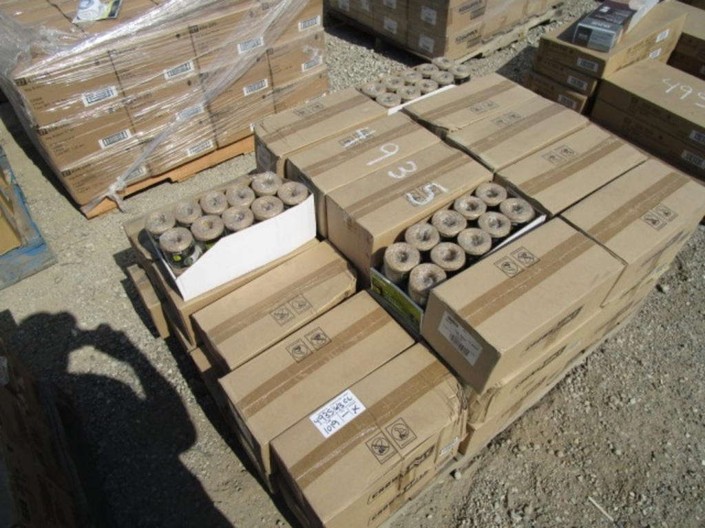 (40) Boxes Of Jute Twine