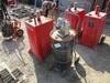 Portable Gasoline Tank & Air Grease Pump W/Barrel