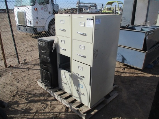 (4) Filing Cabinets