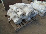 Lot Of (11) Rolls Of White Tarp