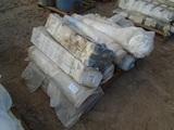 Lot Of (8) Rolls Of White Tarp