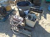 Lot Of Titan 400I Paint Sprayer, Bulbs & Misc