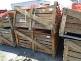 (2) Pallets Of Orange Construction Plastic Fencing