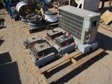 (4) 400 Amp Breakers & Goodman AC Unit