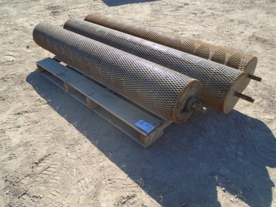 (3) Cultivator Rollers