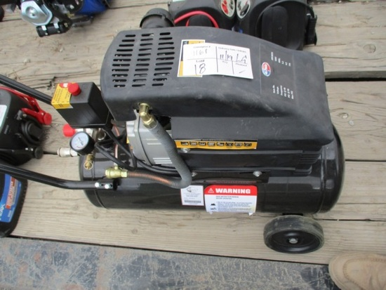 8-Gallon Electric Air Compressor