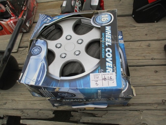 "(2) Boxes Of 16"" Wheel Covers"