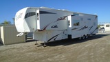 2009 Heartland Cyclone Tri-Axle Toy Haul Trailer,