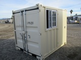 Unused 8' Portable Office Container