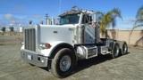 Peterbilt 379 T/A Heavy Haul Truck Tractor,