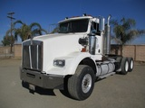 Kenworth T800 T/A Heavy Haul Truck Tractor,