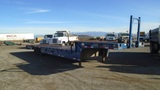 Trail King T/A Equipment Trailer,