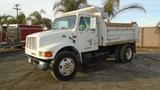 2001 International 4700 S/A Dump Truck,