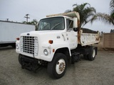 Ford L8000 S/A Dump Truck,